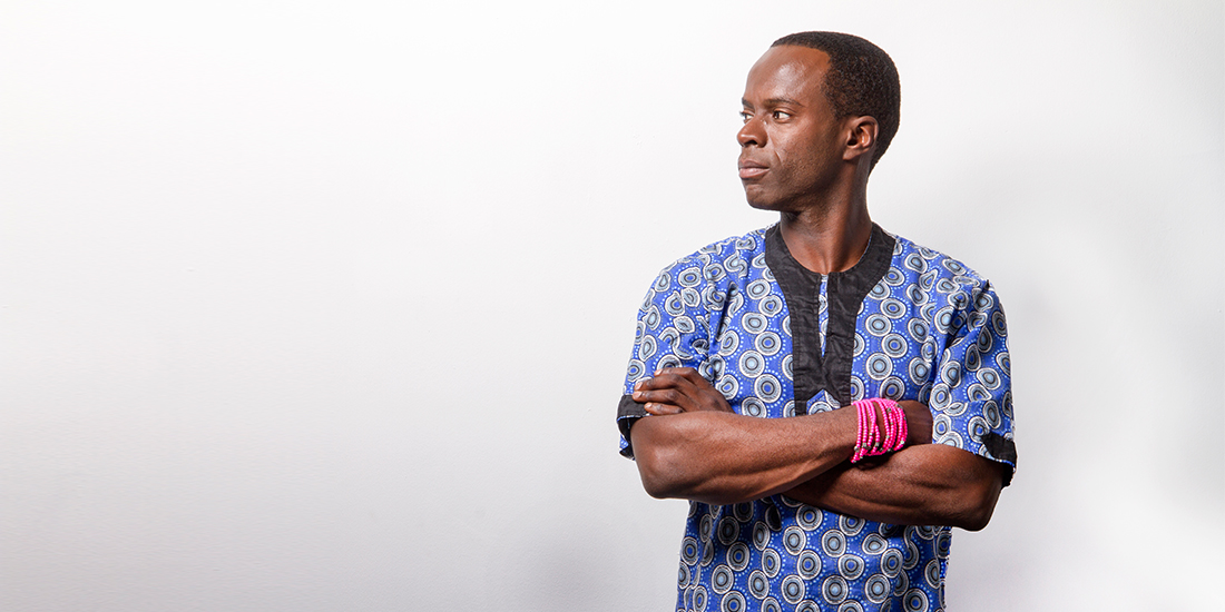 Anthony Oseyemi gets his pink on