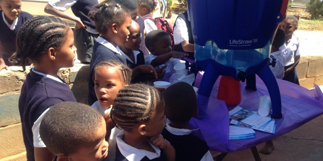 Spice4Life - Cape Farm School Receives Safe Drinking Water From Rotary SafeWater Project