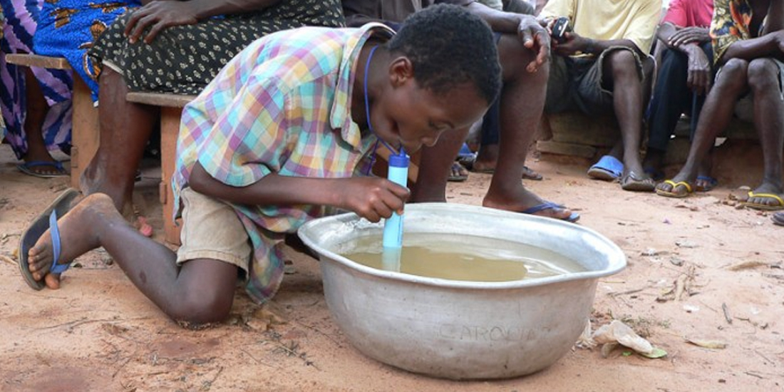 The South African - Awesome new 'straw' decontaminates water, helping millions of Africans