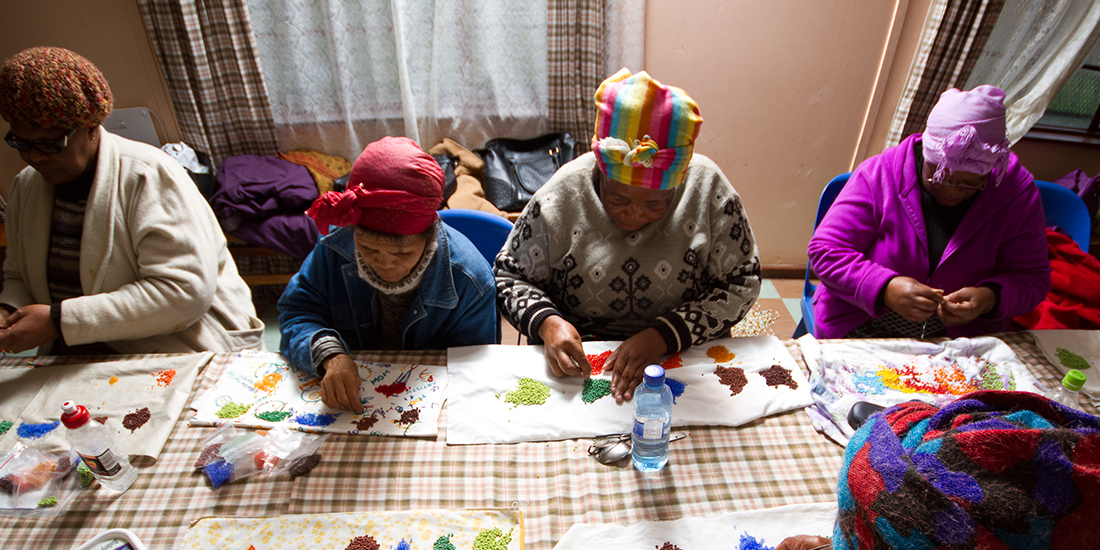 Cape Argus - A circle of beads that brings hope