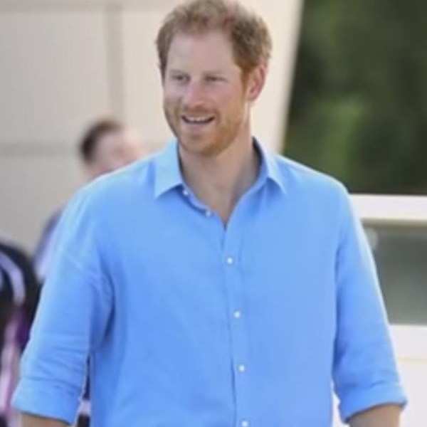 Prince Harry Spotted Wearing SA Charity Bracelet