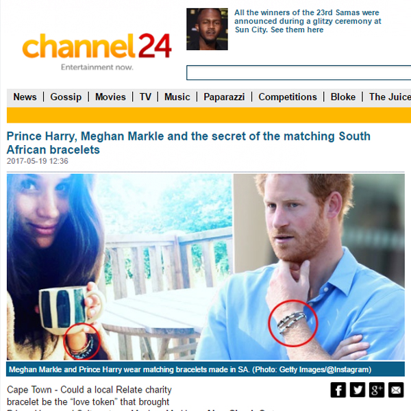 Channel24 - Prince Harry, Meghan Markle and the secret of