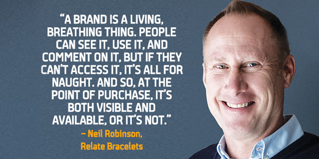 Going The Extra Mile With Neil Robinson Of Relate Bracelets