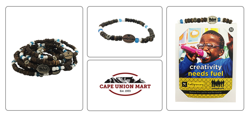 868530789 The Fuel2Grow campaign bracelets were designed by South African Pop Group  Freshlyground and raise awareness for the plight of kids who don't have the  food ...