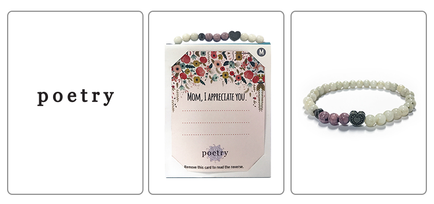 Poetry Mother's Day Relate Bracelet