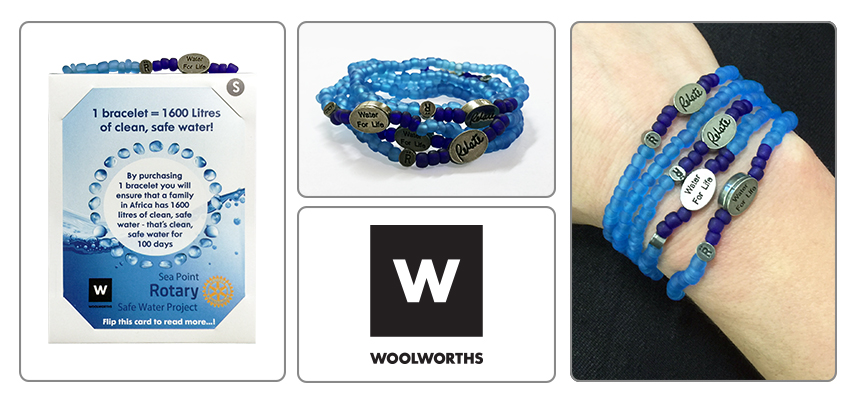 Water for Life Relate Bracelet from Woolworths