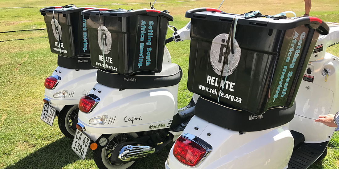 Relate partners with Scully Scooters as vehicle for change.