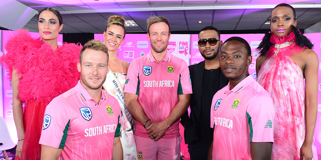Proteas to go pink with top designer David Tlale